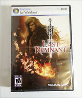 The Last Remnant PC discontinued game 2 DISC Bilingual French & English Complete