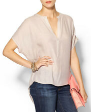 "$138 BCBG CANVAS ""AYANNA"" OVERSIZED SCARF SHIRT TOP NWT M"