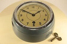 Vintage 1985 Russian USSR Military Navy Marine Nautical Ship Boat Clock VOSTOK