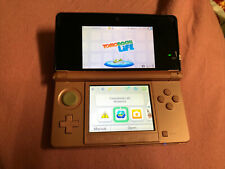 Nintendo 3DS Pearl Pink W/2GB SD Card & Tomodachi Life 3DS Game Tested