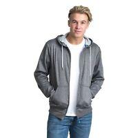 Trespass Goodman Men's Full Zip Casual Fleece Lightweight Warm Jumper with Hood