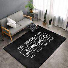 Video Gamer Lifestyle Area Rug Living Room Bedroom Floor Mat Carpet All Sizes