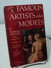 Famous Artists and Their Models by Thomas Craven - Pocket  579 - 1949