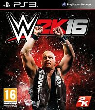 WWE 2K16 PS3 PlayStation 3 Fighting Video Game Original UK Release New Sealed