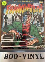 "Frankenstein 7"" LP 33 Vinyl,Record. (Monster.Power 2285) Dracula,Werewolf Sealed"