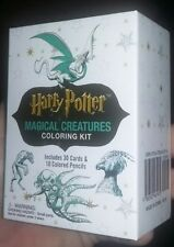 Harry Potter Magical Creatures Coloring Kit by Running Press. New
