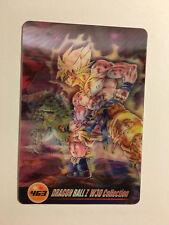 Dragon Ball Z Morinaga Wafer Card 463 3D