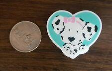 """Bn """"heart"""" shaped Spottie Dottie acrylic pin -"""