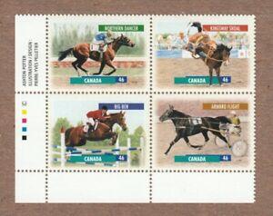 HORSES RACING BIG BEN NORTHERN DANCER Canada 1999 #1794a MNH VF LL PB