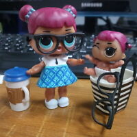 Rare LOL SURPRISE TEACHERS PET & LiL Sisters SERIES 1 008 DOLL Toy Girl Gifts IT