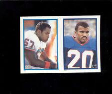 1985 JOE MORRIS DWIGHT STEPHENSON New York Giants Miami Dolphins Sticker