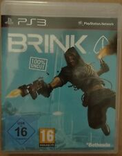 Brink uncut Playstation 3 PS3 Video-Spiel Bluray Disc Bethesda