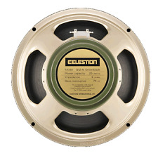 BNIB CELESTION G12M 25w GREENBACK GUITAR SPEAKER 16ohm