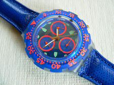 1995 Aquachrono swatch watch Cool Water SBN102 New