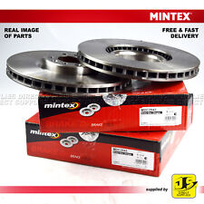 2X MINTEX FRONT DISC BRAKES MDC2543 CITROEN C5 III C6 PEUGEOT 407 COUPE SW 508