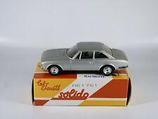 Solido Peugeot 504 coupé réédition Hachette jamais joué en boite 1/43 MIB