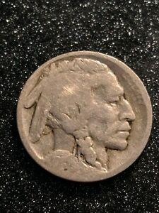 1915-S San Francisco Mint Buffalo Nickel Rare Key Date solid G