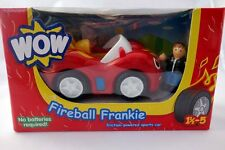 Wow Fireball Frankie Car Toy With Driver Toby Realistic Engine Sound New in Box