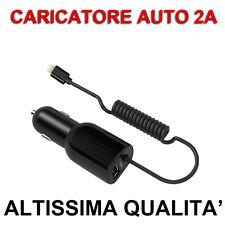 CARICA BATTERIA da Auto a 8PIN per Apple iPhone 5 5s SE 6 6s 7 Plus 2A Lightning