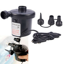 12v Electric Air Compressor Pump Portable Airbed Toy Inflatable Camping Mattress