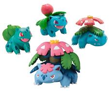 Pokemon Trainer's Choice 4 Figure Bulbasaur, Ivysaur, and Mega Venusaur Pack New