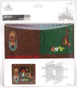 New Disney Parks Enchanted Tiki Room Birds & Gods Diorama