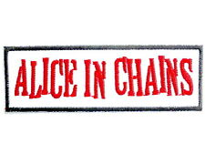"ALICE IN CHAINS Logo Iron On Sew On Shirt Applique Badge Patch 3.8""x1.2"""