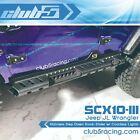 Stainless Step Down Rock-Slider w/ Courtesy Lights for SCX10 III JL Wrangler