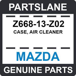 Z668-13-Z02 Mazda OEM Genuine CASE, AIR CLEANER
