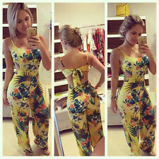 New Sexy Women Backless Party Jumpsuit Playsuit Bodycon Romper Trousers Clubwear