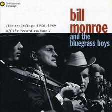 Bill Monroe - Live 55-69 [New CD]