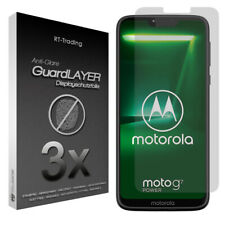 3x MOTOROLA MOTO G7 POWER - ANTI FINGERPRINT DISPLAY SCHUTZFOLIE FOLIE MATT