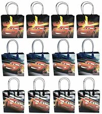 12 Pc Disney Cars Mcqueen Movie Birthday Party Favor Goody Gift candy loot Bags