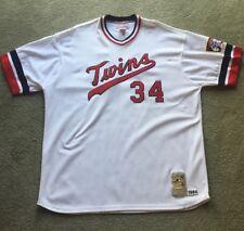 hot sale online 19d89 f3831 1984 Minnesota Twins Kirby Puckett home Mitchell   Ness Jersey Size 3x   56