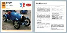 Bugatti - Type 13 Brescia - 1920-26 Competition Collectors Club Card