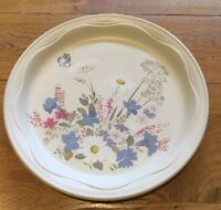 "Poole Pottery 'Springtime' Pattern Dinner Plate 10.2"" Dia. Oven To Table Ware"