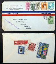 COLOMBIA 2 Airmail Covers BM899