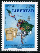 STAMP / TIMBRE de FRANCE  N° 4527 ** INDEPENDANCES AMERIQUE LATINE ET CARAIBES