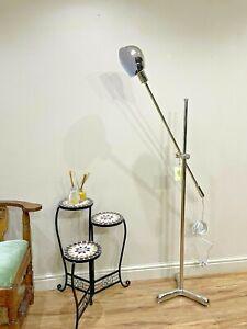 Ralph Lauren RL Boom Arm Floor Lamp Polished Nickel Equilibrium Cantilever AM23