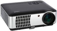 ivolum LED Beamer HBP-3000 Heimkino Projektor 200 Zoll 2800 Lumen HDMI Full HD