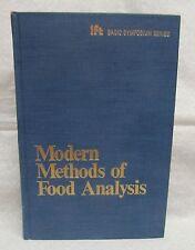 Modern Methods of Food Analysis by Stewart Kent
