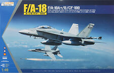 Kinetic 1/48 K-48030 Royal Canadian & Spanish Air Force F/A-18 (A+/B/CF-188)