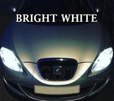 SEAT LEON MK2 SUPER XENON 7500K WHITE HEAD LIGHT LAMP LIGHT BULBS- ERROR FREE