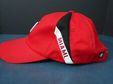 Miami University Hat Ball Cap Champion  Hook and Loop Adjustible Oxford