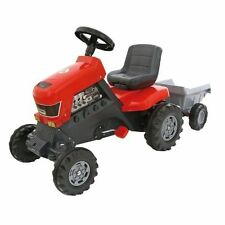 Polesie Coloma Turbo Pedal Tractor and Trailer Kids Fun Toy Delivery