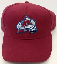 NHL Colorado Avalanche Kids Structured Adjustable Cap Hat NEW SEE DESCRIPTION