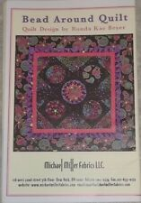 "New Bead Around Quilt Pattern 50"" x 50"" Rhonda Kae Beyer For Michael Miller"