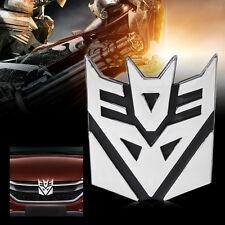 3D Logo Protector Autobot Transformer Emblem Badge Decal Car Sticker Decepticons