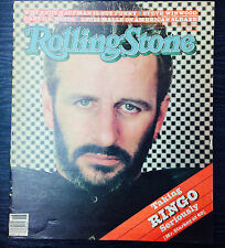 Rolling Stone Magazine-  April 30th 1981- Ringo Starr