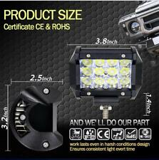 4'' 36W Spot LED Light Work Bar Lamp Driving Fog Offroad SUV 4WD Car Boat Truck
